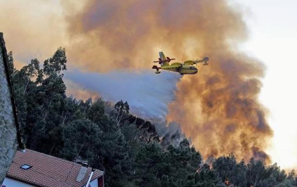 В Іспанії гасять десятки лісових пожеж