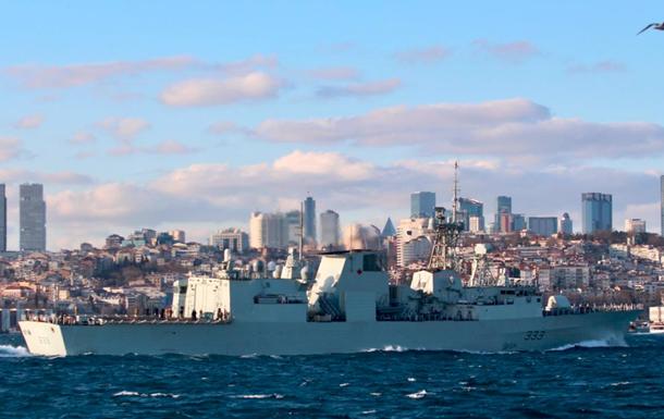 Кораблі НАТО ввійшли в Чорне море