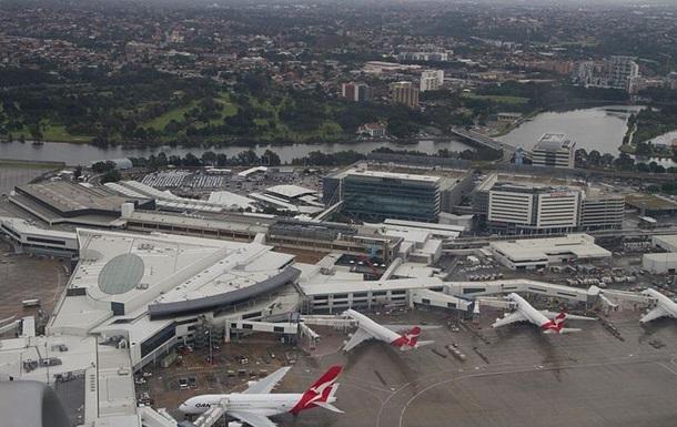 Аеропорт Сіднея припиняв роботу через НП