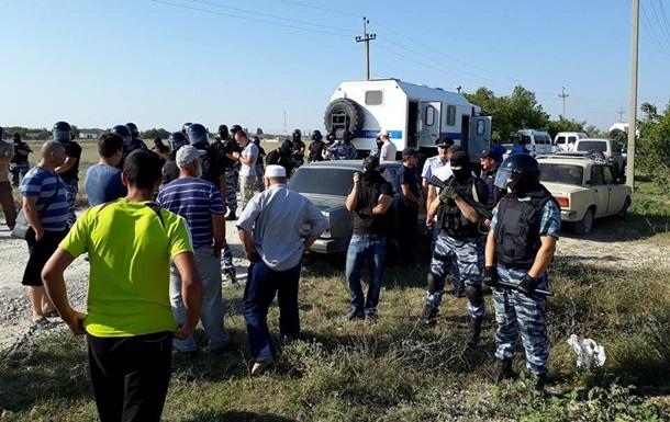 В Крыму арестовали всех задержанных крымскотатарских активистов