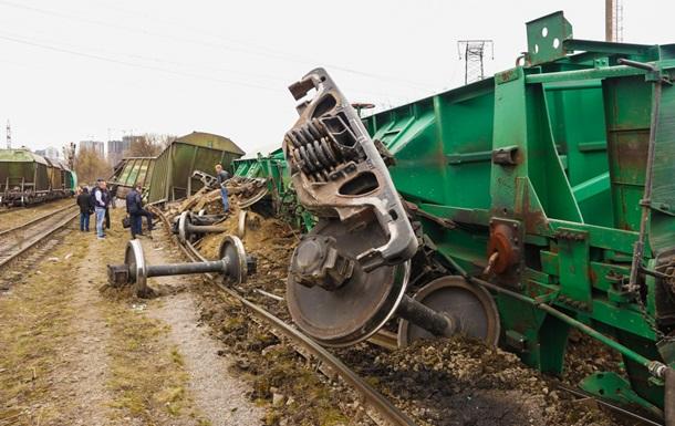 Аварія на залізниці в Києві: в УЗ назвали причину
