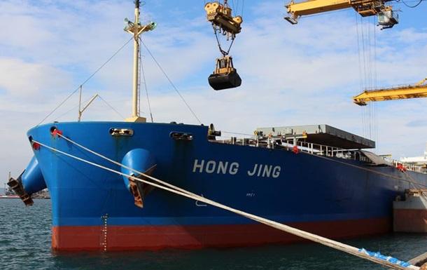 В Україну зайшло перше в цьому році судно з вугіллям зі США