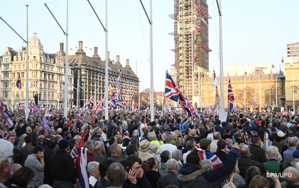 У Лондоні прихильники Brexit вийшли на протест