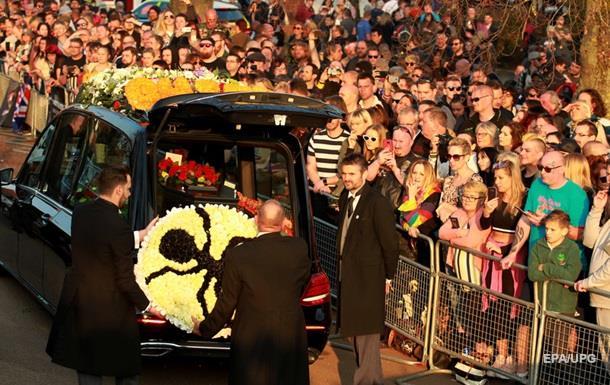 Фанати The Prodigy проводили Кіта Флінта в останню путь
