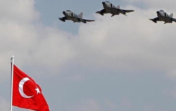 Турция нанесла авиаудары по курдам в Ираке