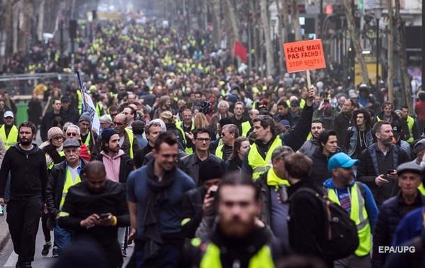 У Франції протестують, незважаючи на заборону
