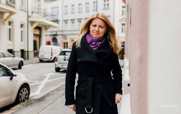 Жінка вперше стане президентом Словаччини