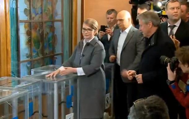 Бойко і Тимошенко проголосували першими з кандидатів