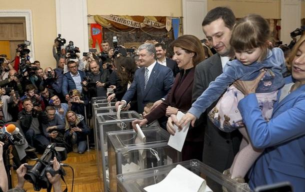 Порошенко: Я проголосував за Україну