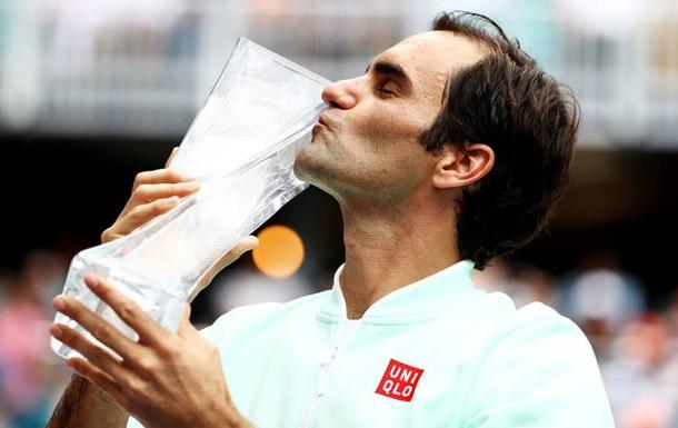 Федерер виграв турнір у Маямі