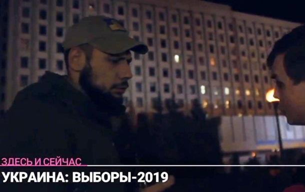 Журналіста російського Дождя прогнали від ЦВК України