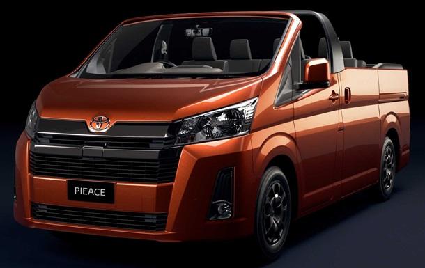 Toyota was enjoying on 1 April, releasing a minivan metaphor