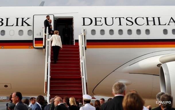 У США поламався літак уряду Німеччини