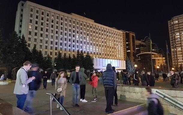 Стало відомо, хто був біля будівлі ЦВК 31 березня