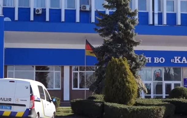 В Івано-Франківську  мінували  завод