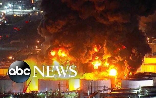 У США горить хімзавод - ЗМІ