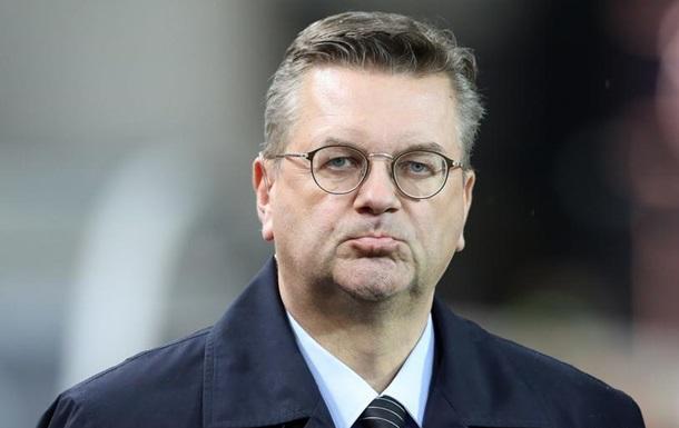 Глава Німецького футбольного союзу звільнився через подарунок Суркіса