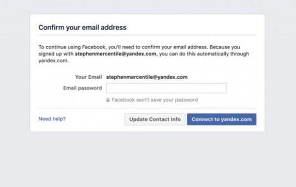 Facebook вимагав паролі електронної пошти