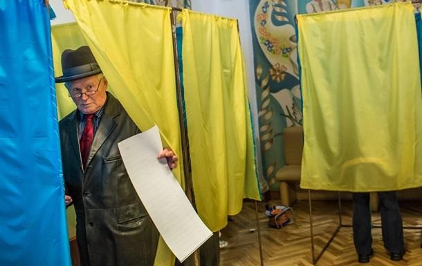 Вибори-2019: результати голосування по областях
