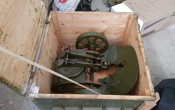 На Донбасі поліція вилучила кулемет Максим