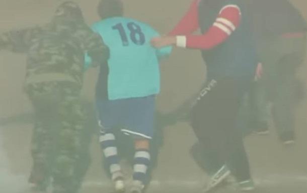 Футболиста во время матча на Сицилии похитили неизвестные в балаклавах на вертолете