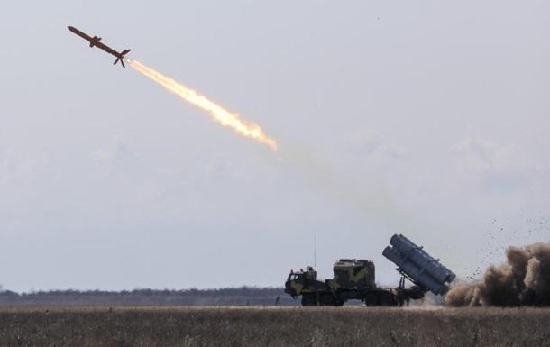 Військові випробували крилату ракету Нептун