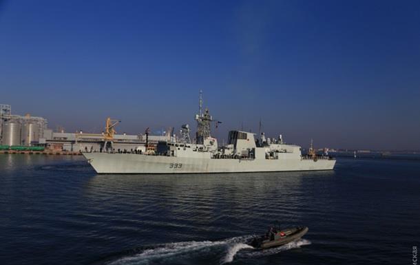 Військові кораблі НАТО покинули порт Одеси