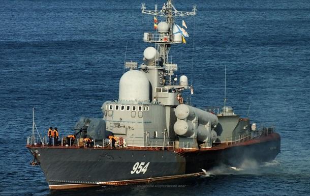 Ракетні кораблі РФ провели стрільби в Чорному морі