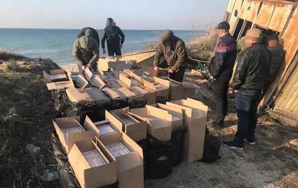 На Донбасі вилучили сигарети на два мільйони гривень