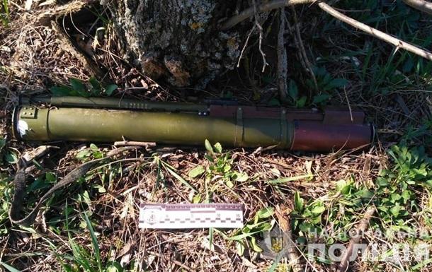 Житель Николаевской области нашел гранатомет
