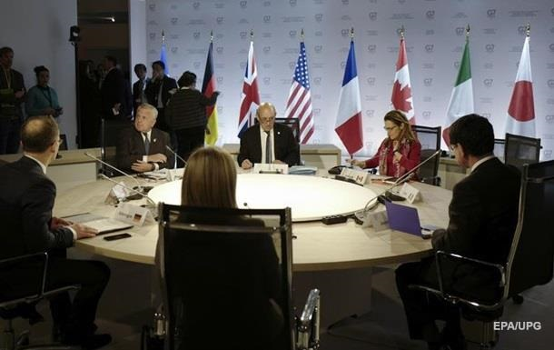 Итоги 06.04: Призыв G7, уход главы Херсонской ОГА
