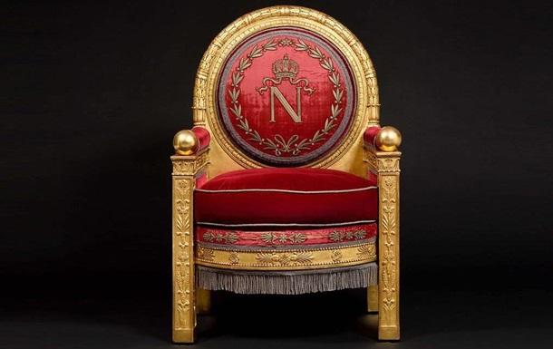 Трон Наполеона продали на аукціоні за 500 тисяч євро