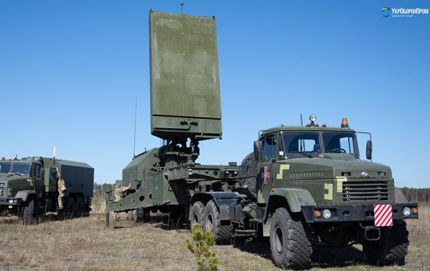 В Украине испытали новый контрбатарейный радар