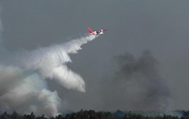 Пожар в ландшафтном парке в Черниговской области ликвидировали