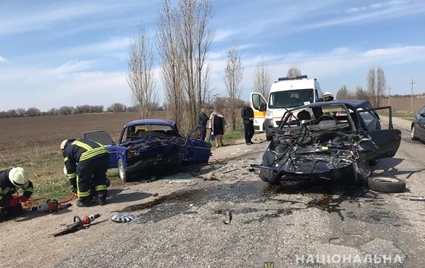 ДТП под Запорожьем: двое погибли, четверых госпитализировали