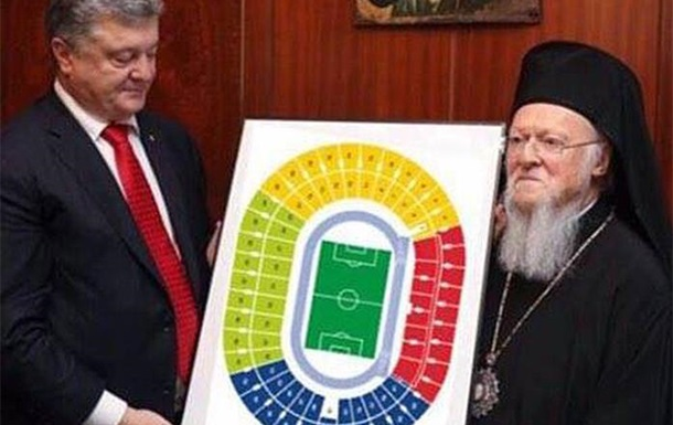 Томосоносец или лицедей? За кого агитируют украинские церкви