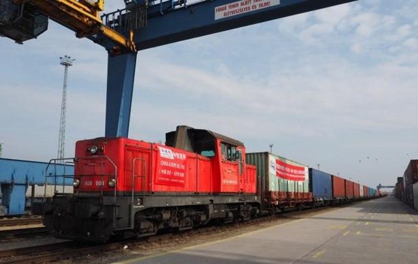 Через Україну запущено новий контейнерний поїзд у Китай