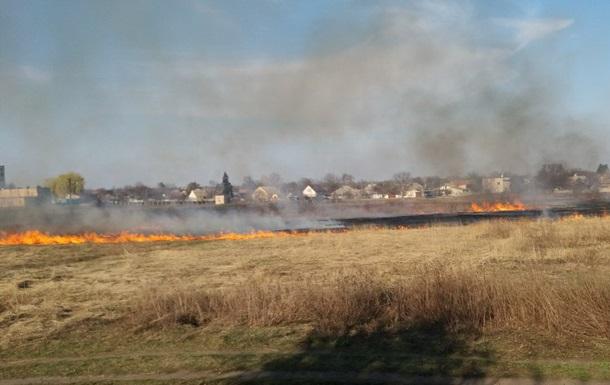 Пожары на Харьковщине: горят дома, есть жертва