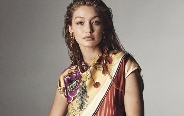 Супермодель Джиджи Хадид снялась для чехословацкого Vogue