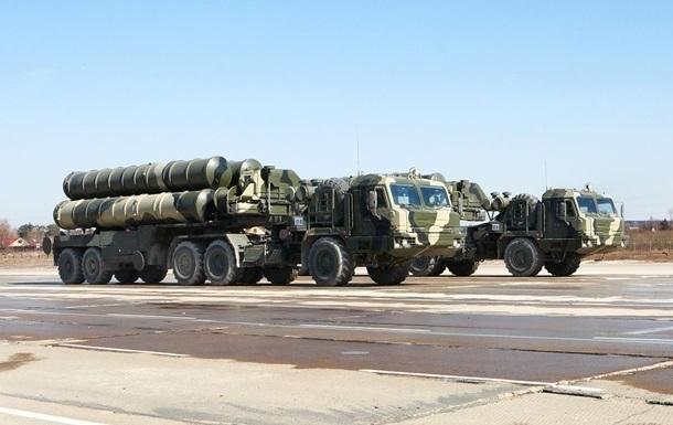 Росія застосувала комплекси С-400 на навчаннях у Криму