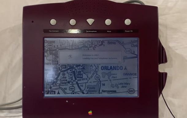У Мережі показали невипущений телефон Apple 1993 року