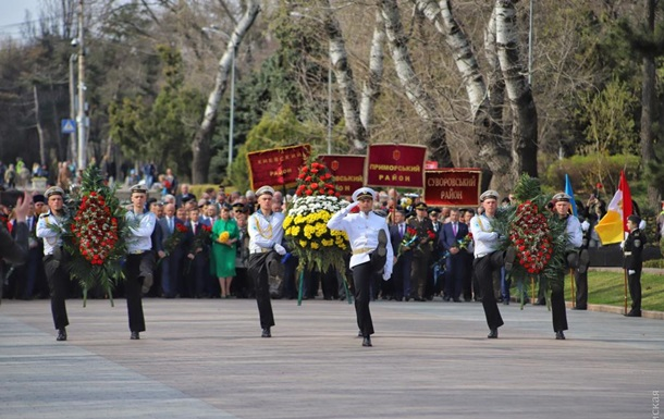 В Одессе отмечают 75-летие освобождения города от нацистов