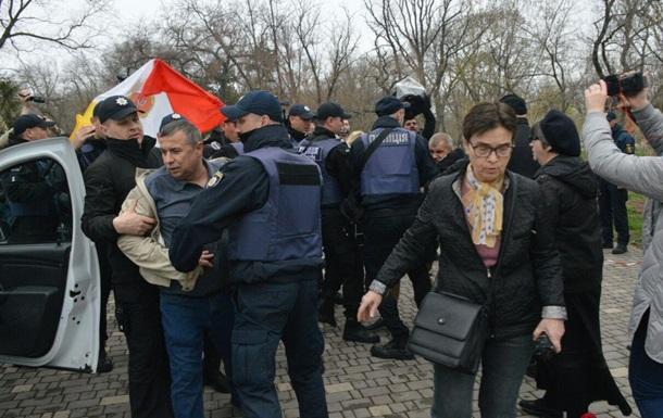 День освобождения Одессы. Без провокаций не обошлось