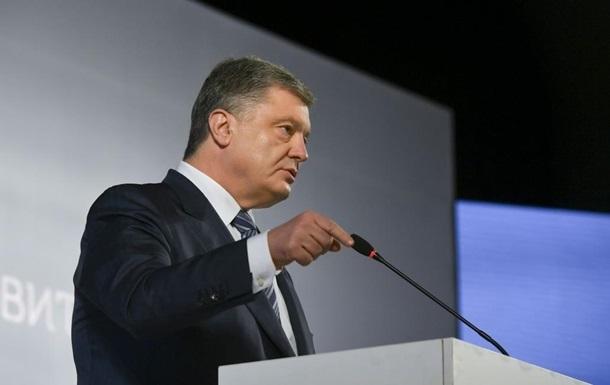Порошенко заявив, що не знав про схеми в оборонці