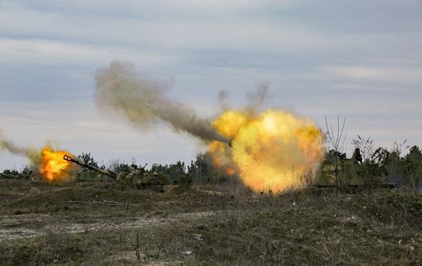 В Ровенской области прошли учения артиллерии