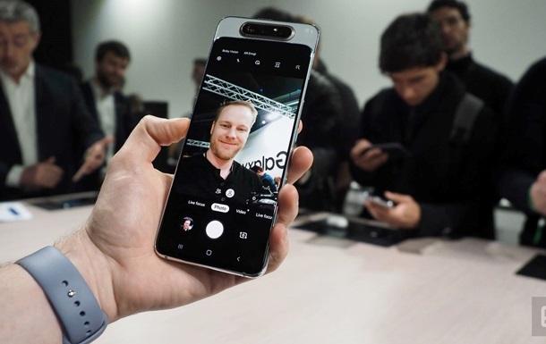 Galaxy A80: фото