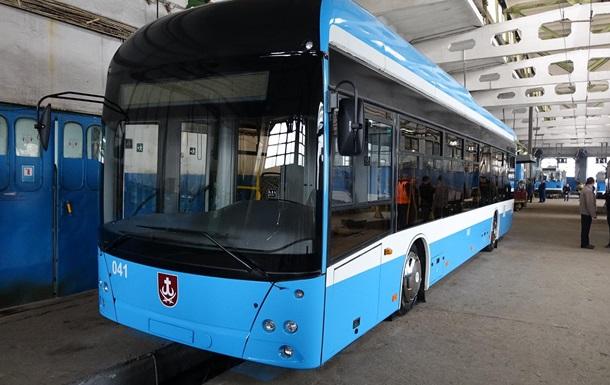 У Вінниці закінчують виробництво власного тролейбуса