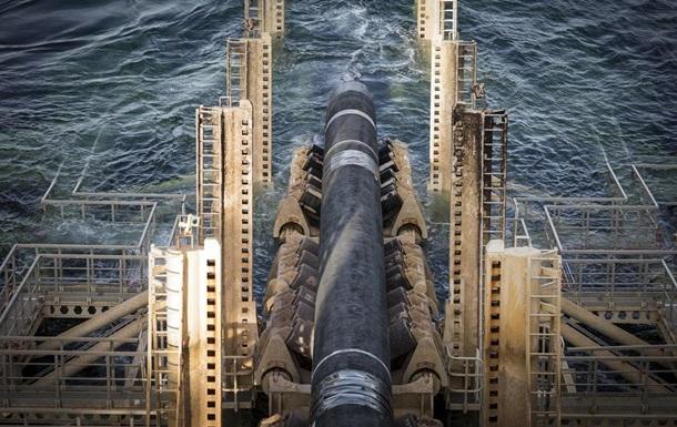 Росія побудувала тисячу км Північного потоку-2