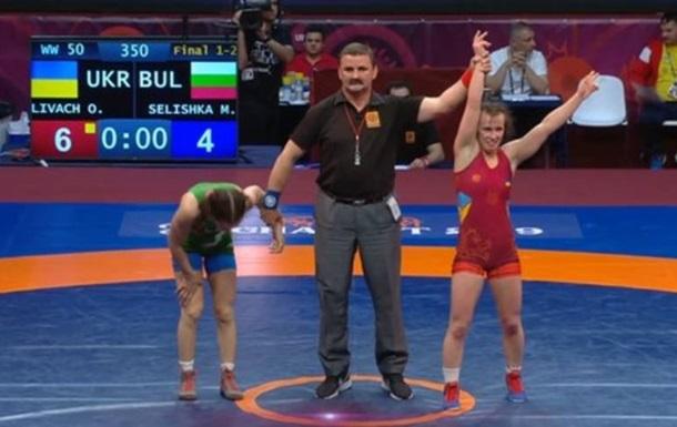 Украинки завоевали три золота на ЧЕ по спортивной борьбе