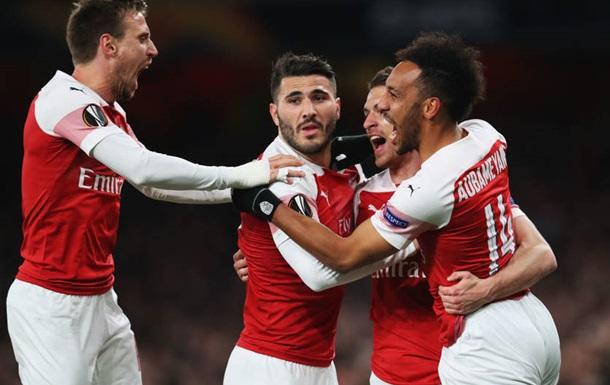 Арсенал впевнено розібрався з Наполі в першому матчі 1/4 фіналу ЛЄ
